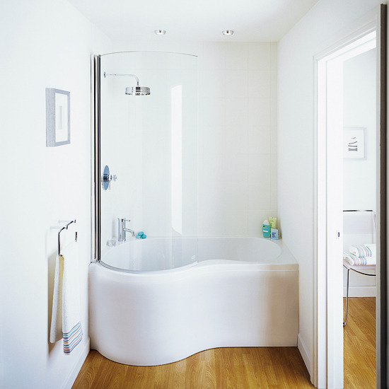 Small Corner Bath : Small bathrooms ideas worth thinking about The Lady Who Lives Down ...